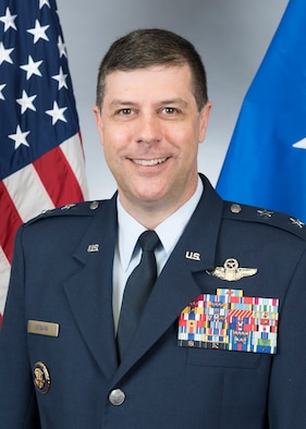 This is the official portrait of Maj. Gen. Andrew J. Gebara.