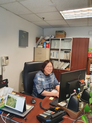 DLA Distribution highlights Asian Pacific Islander Month, Ms. Yong Mi Yi