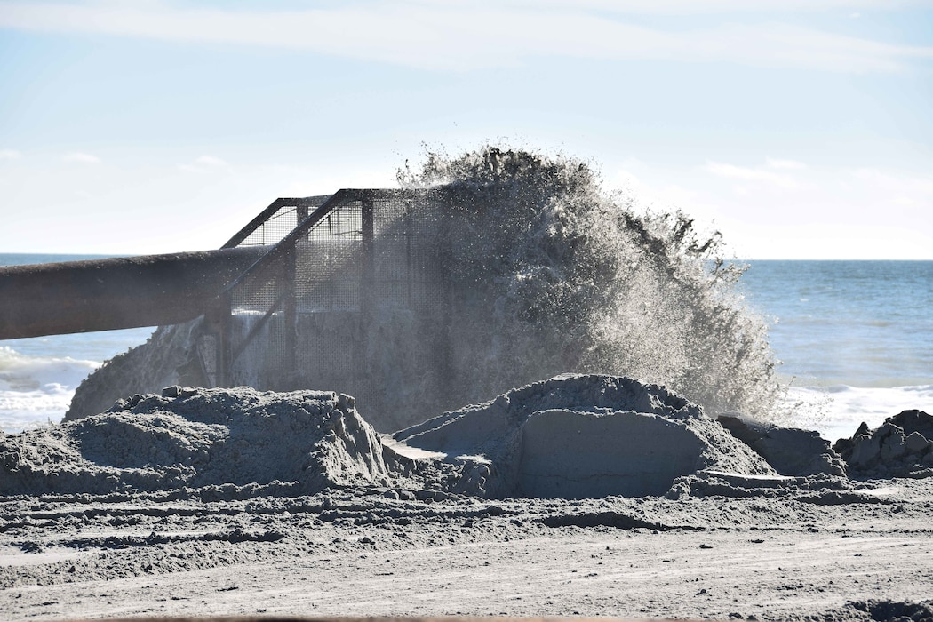 USACE and its contractor, Great Lakes Dredge & Dock Company, are conducting beachfill operations on Absecon Island. Work will take place in Atlantic City, Ventnor, Margate and Longport and is expected to be completed in the winter of 2020/2021.
