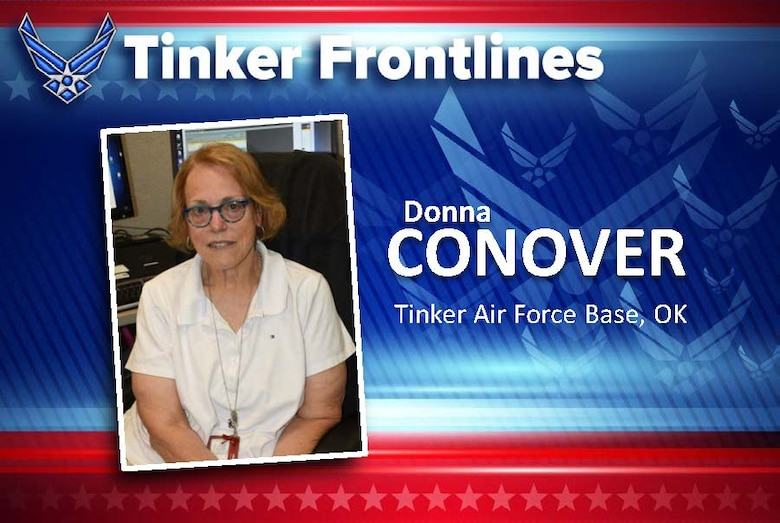 Donna Conover is a budget analyst and resource advisor in the 448th Supply Chain Management Wing's Financial Management Directorate.