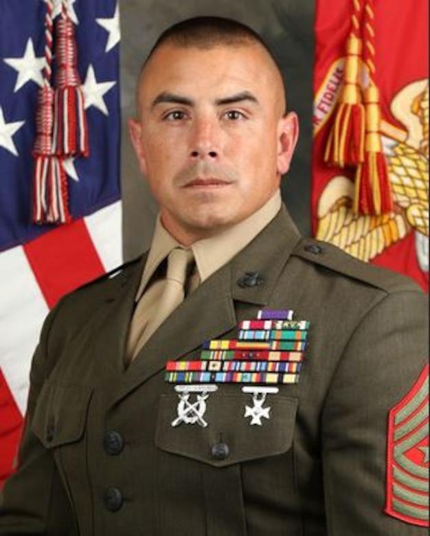 Sergeant Major Albert Martinez