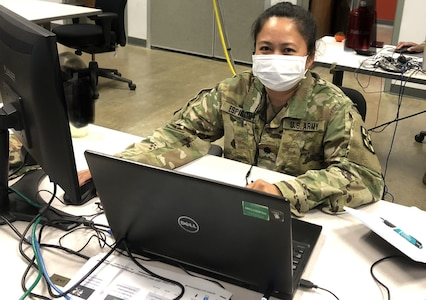 Army Reserve Laboratory Officer in the Fight Against COVID-19