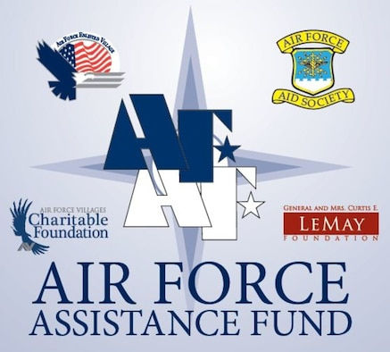 Columbus Air Force Base's Air Force Assistance Fund 2020 campaign. The AFAF affiliates with official nonprofit organizations include the Air Force Aid Society, Air Force Enlisted Village, Lemay Foundation and the Air Force Villages Charitable Foundation, all of which accept donations to help enlisted Airmen, officers and their families, both active duty and retired. (Courtesy graphic)
