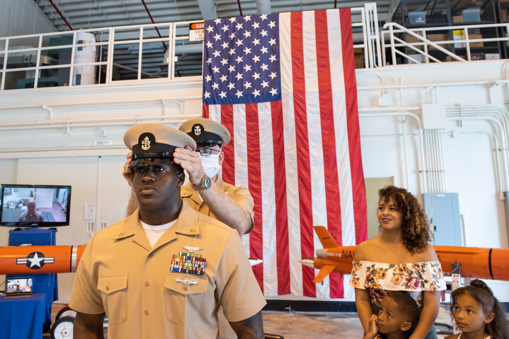 Pacific Fleet Sea Sailor of the Year Advanced in Rare Ceremony