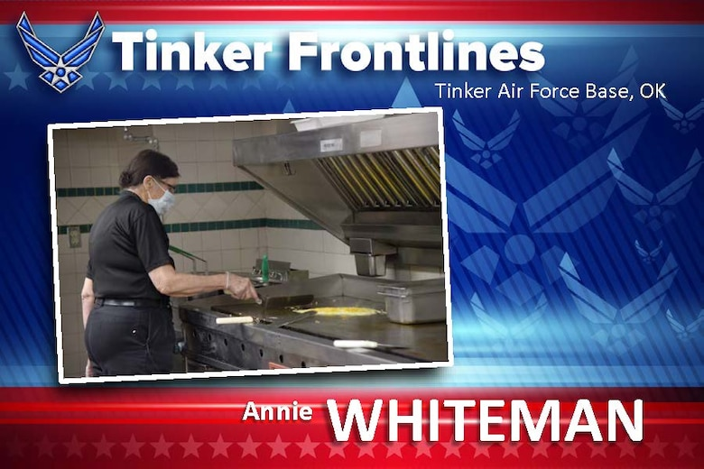 Annie Whiteman is a senior supervisor at the Vanwey Dining Facility.