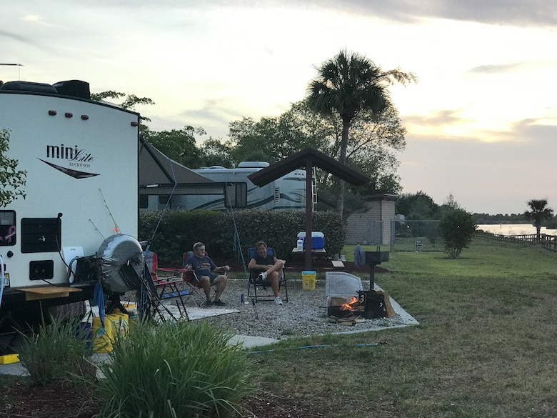 Campers with reservations may return to campgrounds during the first phase of a gradual reopening of Corps recreation areas along the Okeechobee Waterway starting June 1 2020