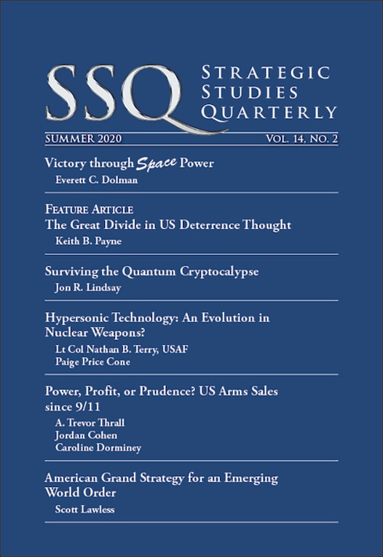 Air University Press releases summer edition of SSQ