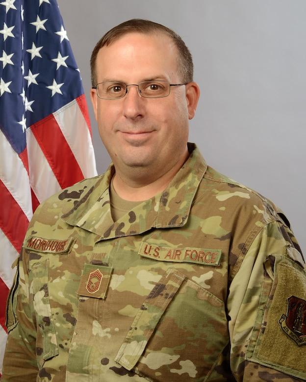 Portrait of Chief Master Sgt. Matthew Morehouse