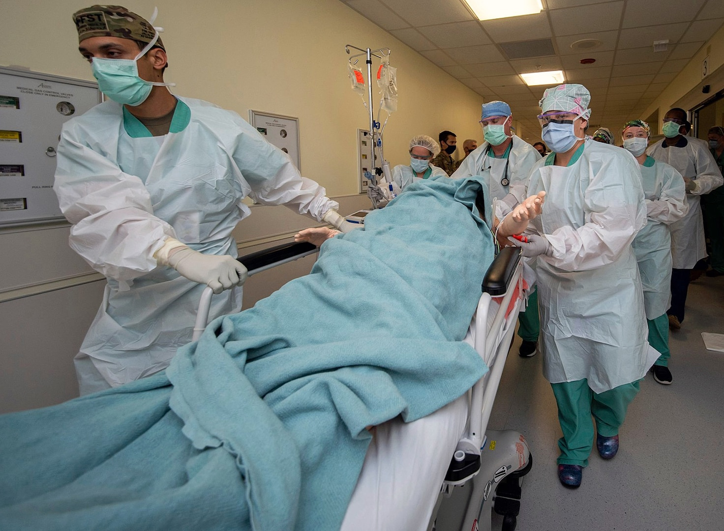 Doctors rush to surgery