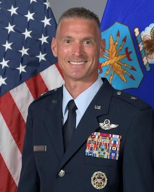 This is the official portrait of Brig. Gen. Gregory Kreuder