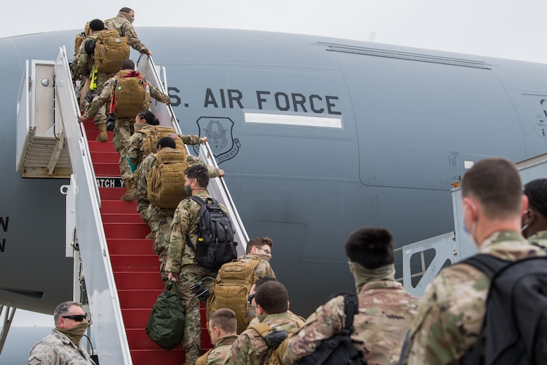 714th AMXS Deploys Overseas
