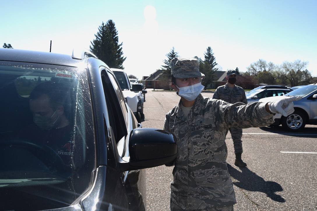 airman directs patient