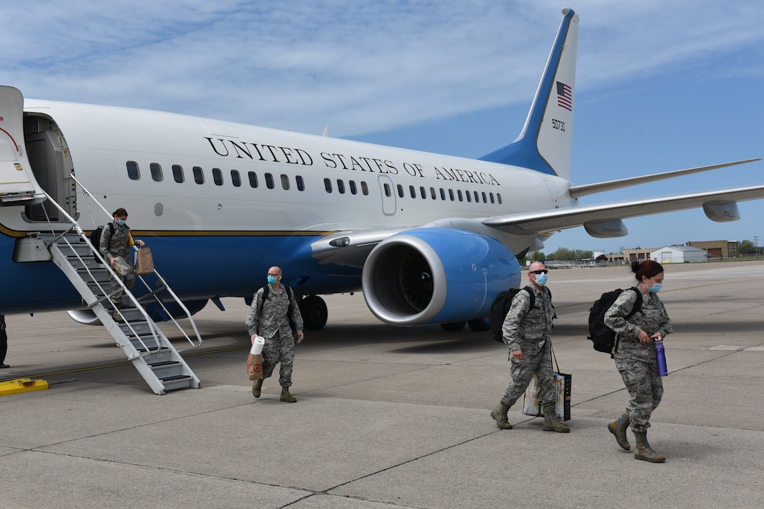 Niagara Airmen return home from stateside Covid-19 deployment
