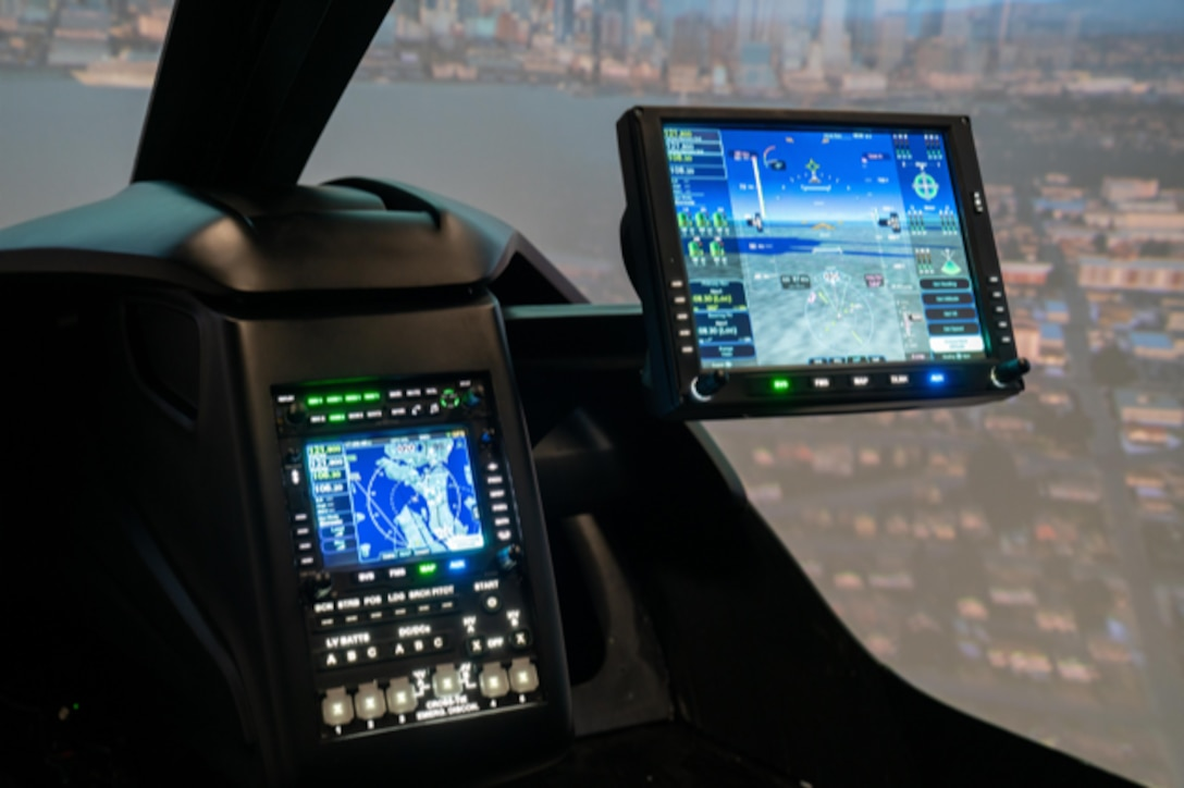Beta Technologies is working on advanced avionics in an aircraft designed to fly 250 miles on a single charge.  (Image courtesy of Beta Technologies)