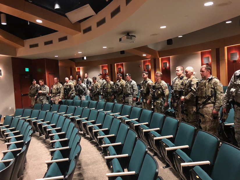 Utah National Guard Activated by Order of the Governor