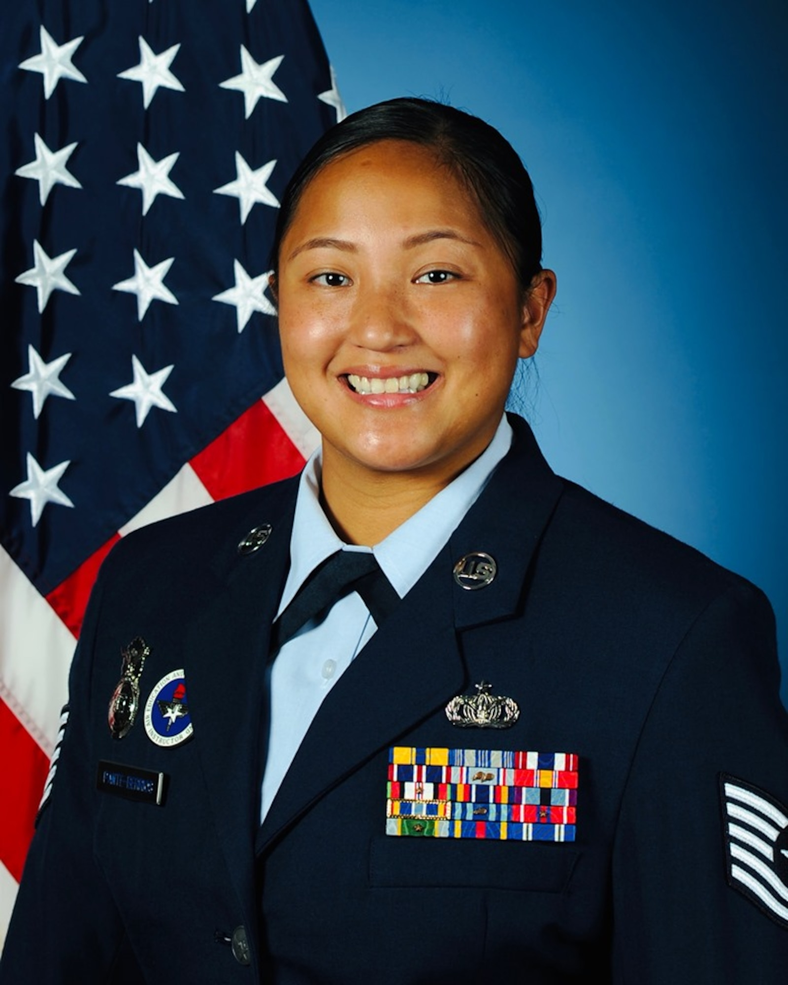 The Uniformed Services Award for the Federal Asian Pacific American Council was awarded to TSgt. Sarahlizamarie Pante-Berrios, April 8, 2020. The award recognizes members of all of the Uniformed Services for fostering harmonious relationships between the services and the Asian and Pacific Islander communities, exhibiting distinguished behavior, and being a leader in overcoming discrimination, promoting equal opportunity, and developing all members of the Civilian and Uniformed Services. (Courtesy Photo)
