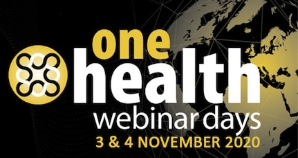 Join us for the Army Public Health Center One Health Webinar Days, One Health in Mobile Populations: Diseases Know No Borders to be held virtually on 3-4 November 2020.  Microsoft CVR Teams is required for attendance.  Follow the link to register and learn more about the event. https://phc.amedd.army.mil/topics/campaigns/onehealth/Pages/default.aspx   (Courtesy Graphic
