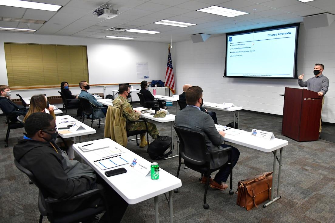 AFMC Supervisory course classroom photo