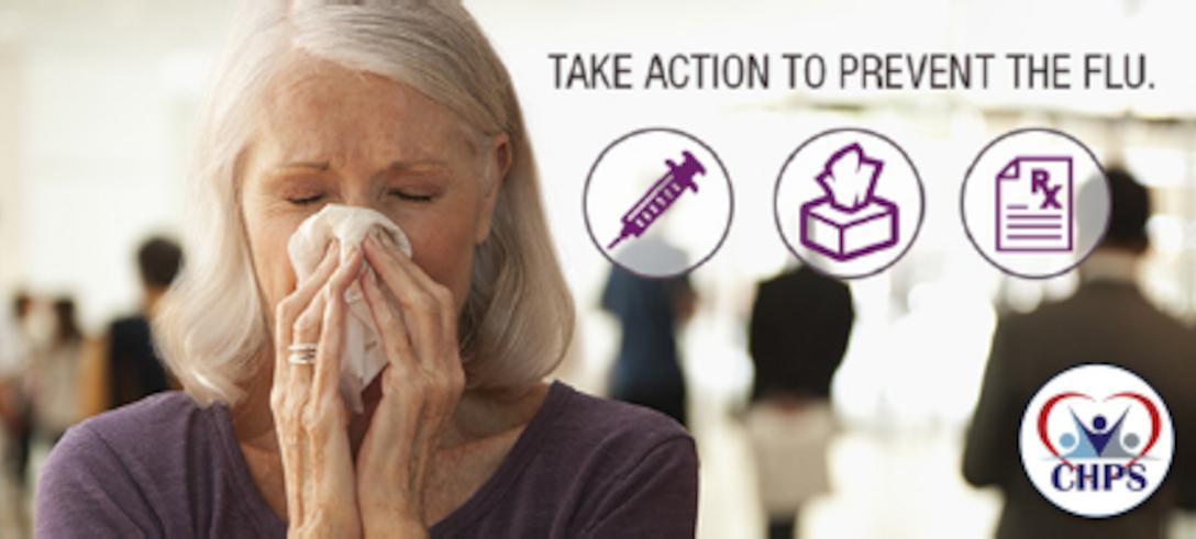 Flu vaccine graphic