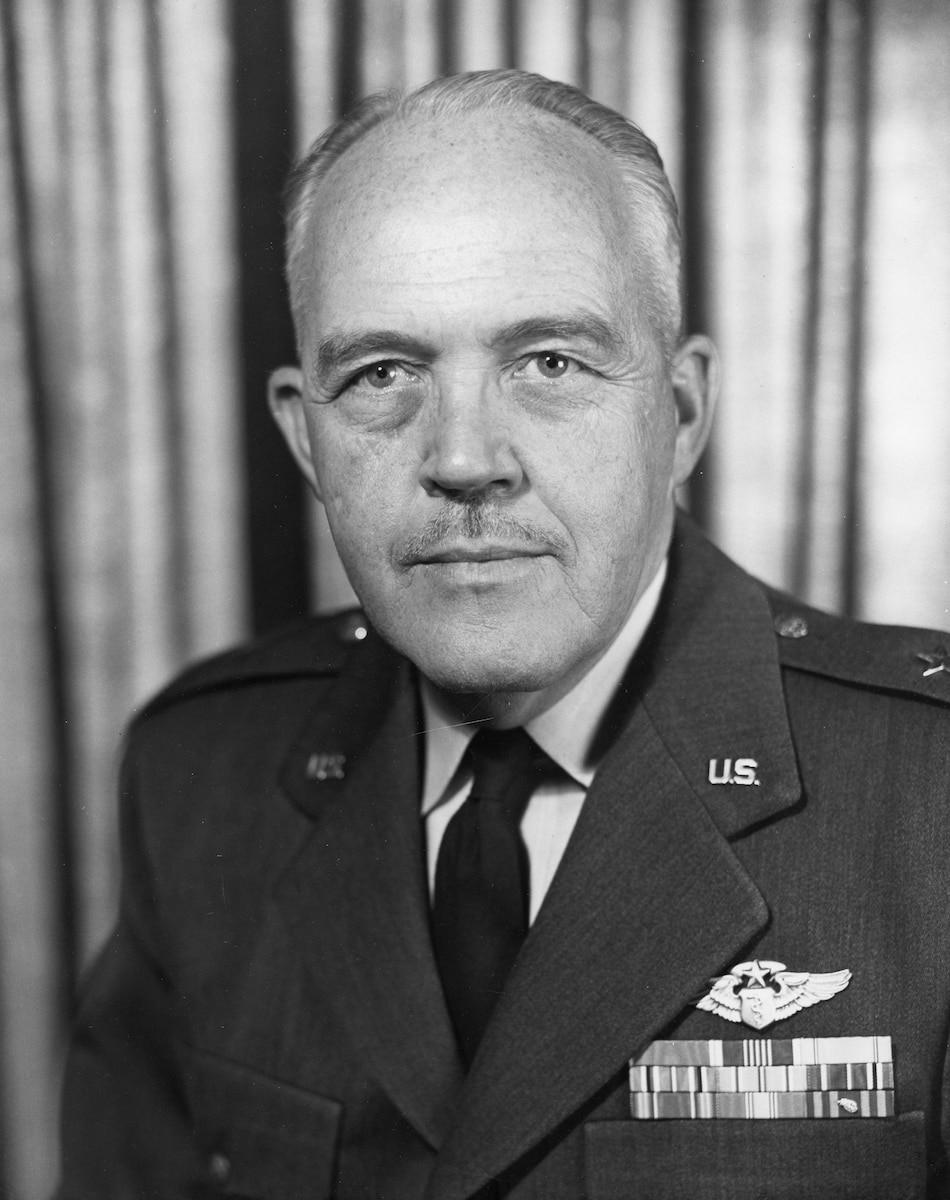 This is the official portrait of Brig. Gen. (Dr.) James G. Moore.