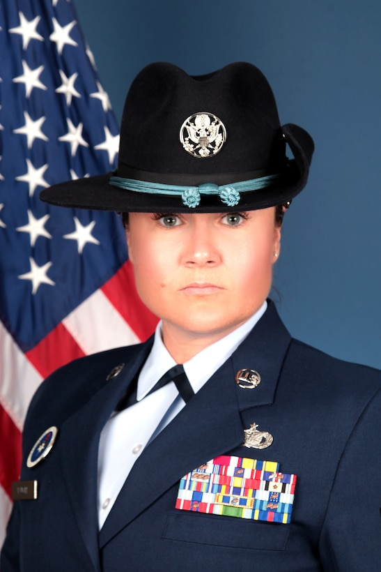 Master Sgt. Holly Vaught is the 2020 Blue Rope of the Year.