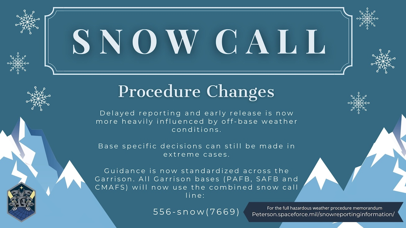 P-S GAR Snow Call Information
