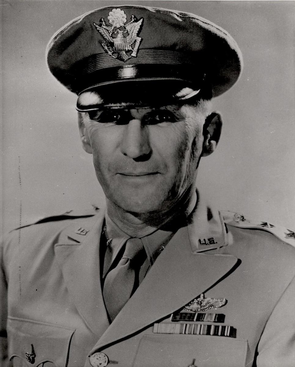 This is the official portrait of Maj. Gen. Delmar Hall Dunton.