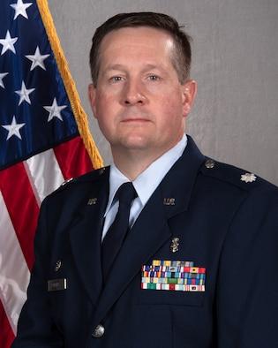 Airman posing for portrait.