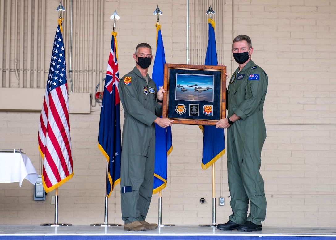 Royal Australian Air Force departs Luke after completing training objectives
