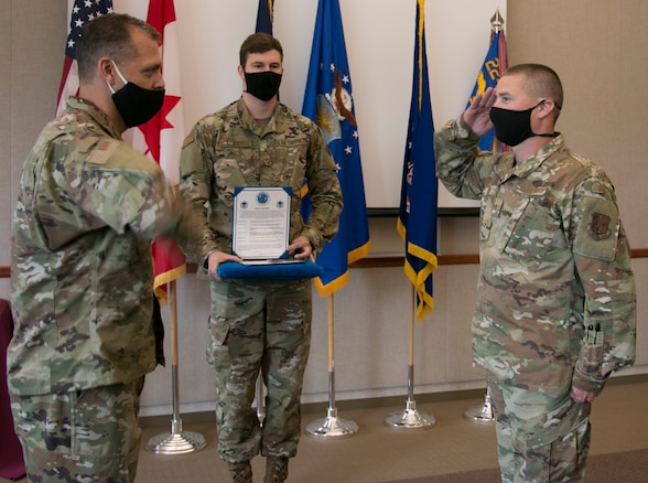 Peters promoted to master sergeant