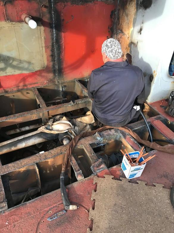 The Merritt Under Construction at NC State Shipyard