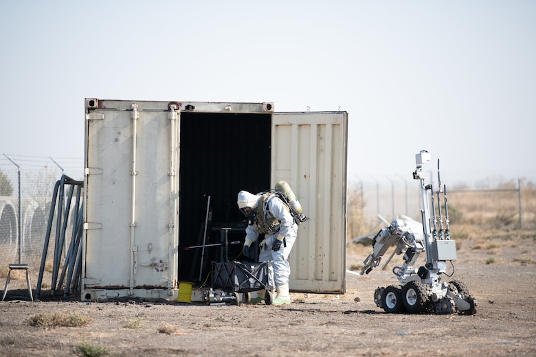 Travis EOD Airmen train advanced warfighting capabilities