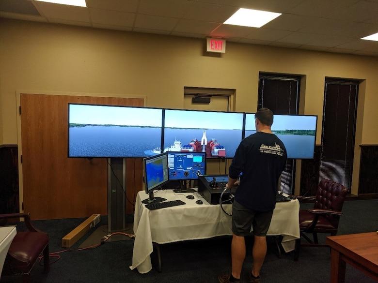 Portable CHL Ship Tow Simulator