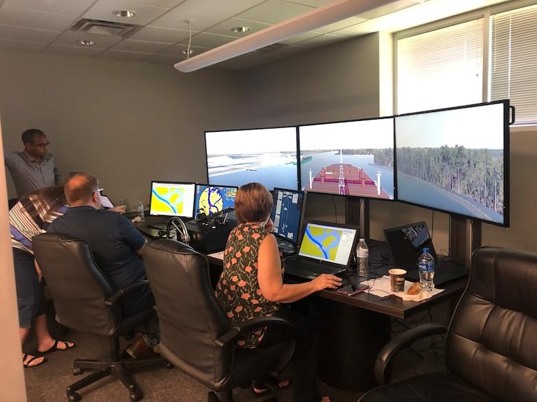 CHL Ship Tow Simulator