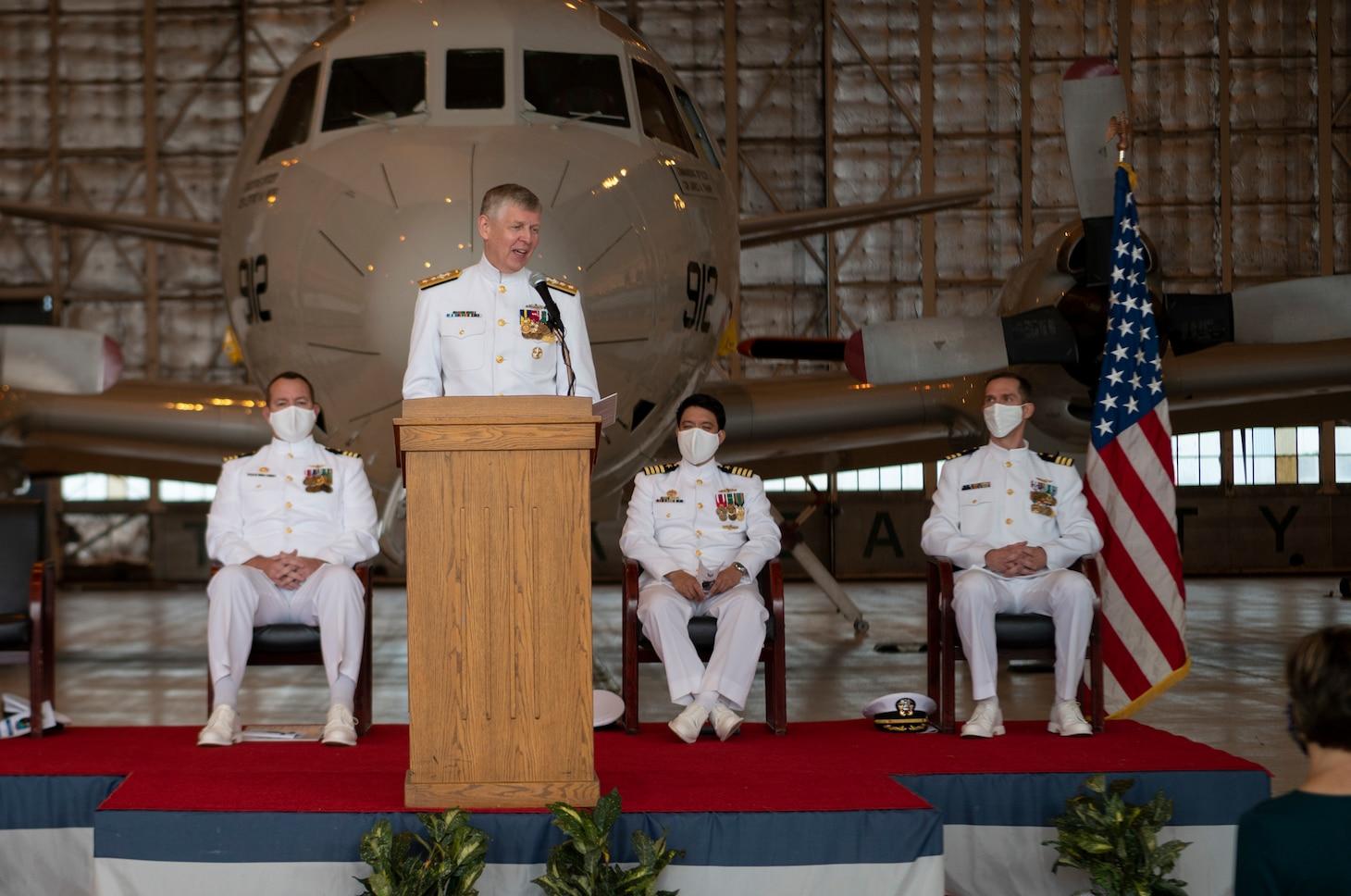 Scientific Development Squadron (VXS) 1 Holds Change of Command