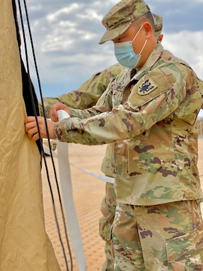 Army Reserve aviation brigade adapts to COVID-19 challenges by conducting local command post exercise