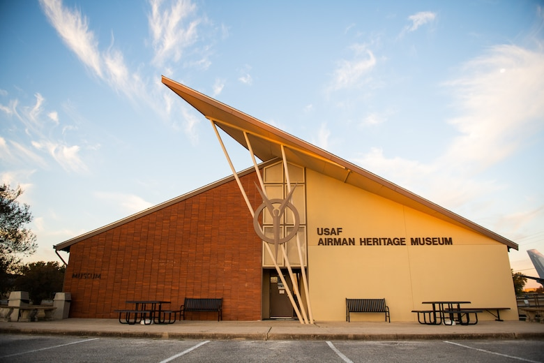 The USAF Airman Heritage Museum collects, researches, preserves, interprets and presents the United States Air Force, along with predecessor organizations, Enlisted Corps. History, heritage, and traditions to develop Airmen today for tomorrow.