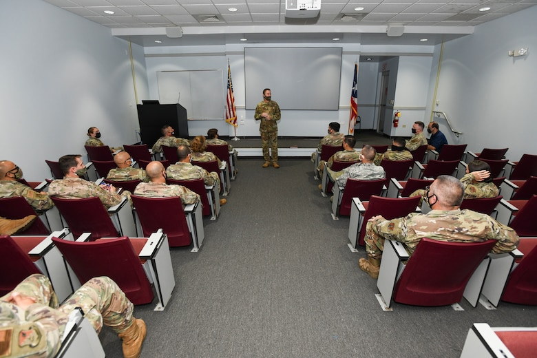 Col. Boone addresses 156th Wing leadership