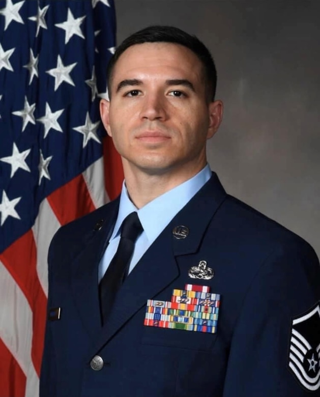 CHRISTIAN R. HUBBARD, MSgt, USAF Selected for OTS. He is one of 35 enlisted members selected for the 2020 cohort.