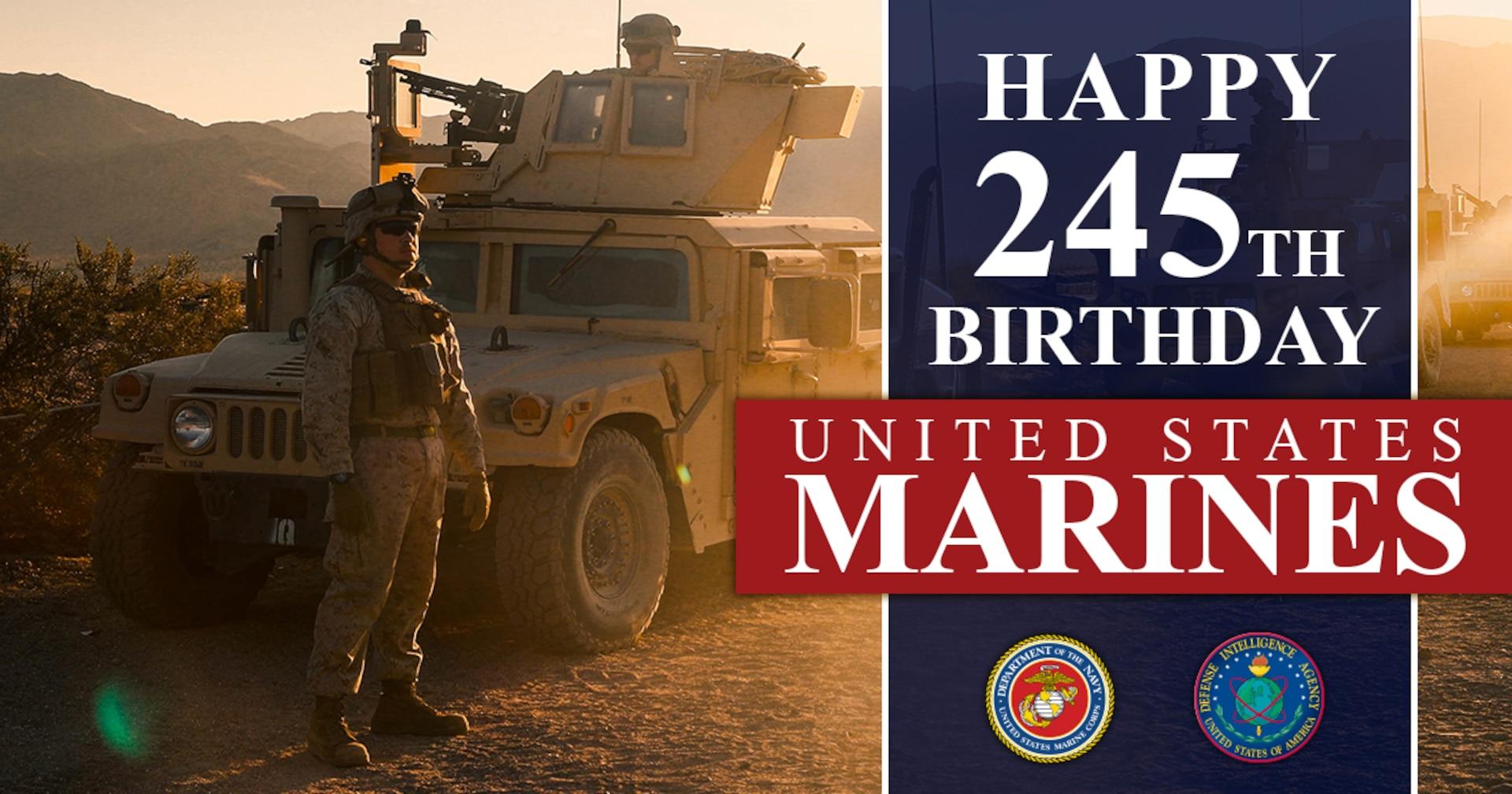 Happy 245th Birthday, United States Marines.