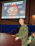 Marine Corps Birthday Celebration on DSCR