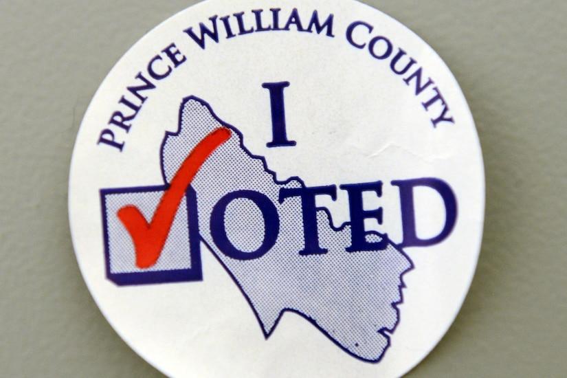 Voting Sticker.