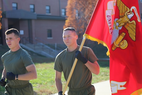 To commemorate 245 years of our Corps service to its Country,  the Marines of the Ozarks from Marine Corps Detachment, Fort Leonard Wood ran 245 continuous miles 4-6 Nov 2020 aboard Fort Leonard Wood