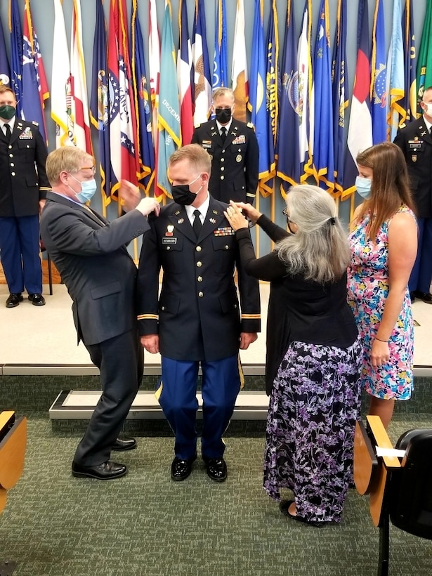 Warrant Officer Michael McMahan, an Army Reserve Soldier assigned to the 94th Training Division – Force Sustainment, officially joined the warrant officer ranks after completing Warrant Officer Candidate School and participating in a graduation and pinning ceremony held at Fort Pickett, Virginia, this year.