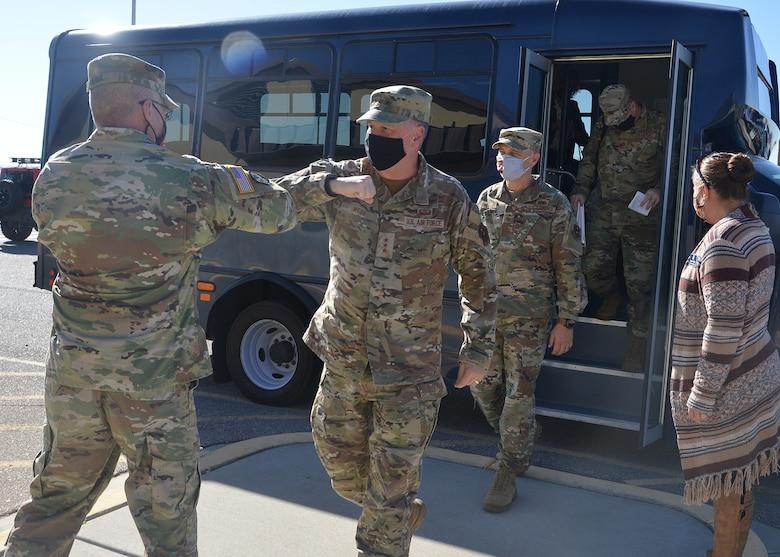 AETC commander meets New Mexico National Guard adjutant general