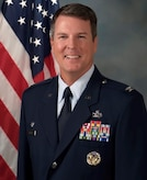 Official photo of Col. Travis C. Harsha. (U.S. Air Force photo)