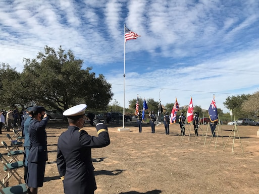 Photo of Veteran's Day Ceremony at Pine Grove Cemetery