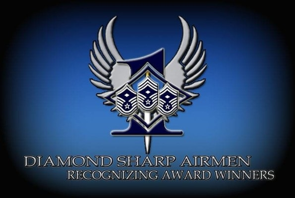 The Diamond Sharp Award is sponsored by the Joint Base San Antonio First Sergeants Council and recognizes outstanding Airmen who continually exceed the standard to meet the Air Force mission.