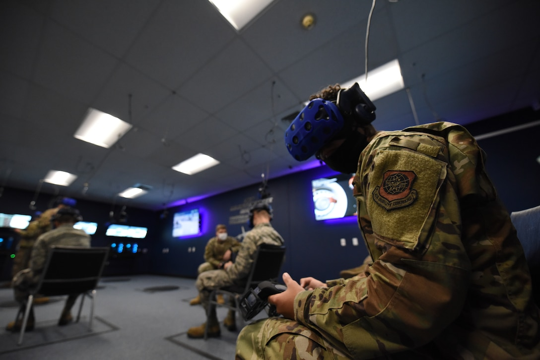 317th Airlift Wing enhances training with VR systems
