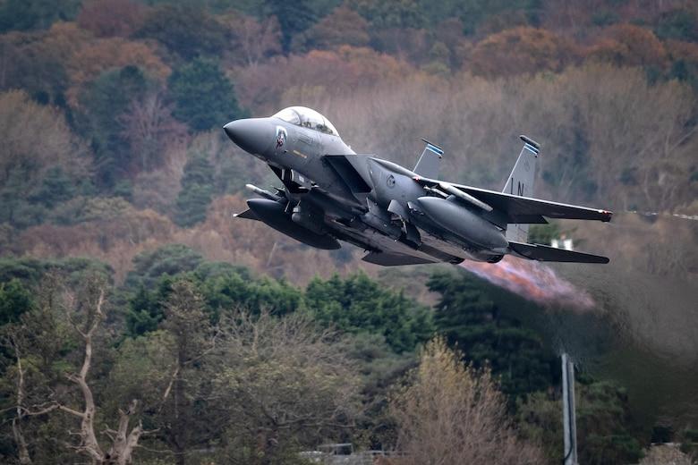 Strike Eagle's stay postured